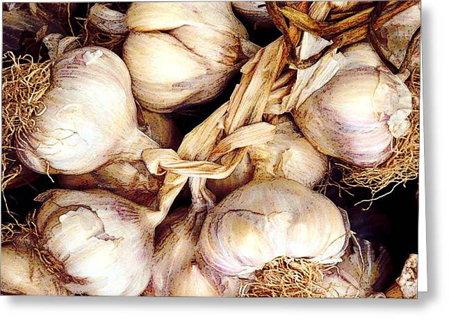Gobs Og Garlic Greeting Card by Elaine Plesser
