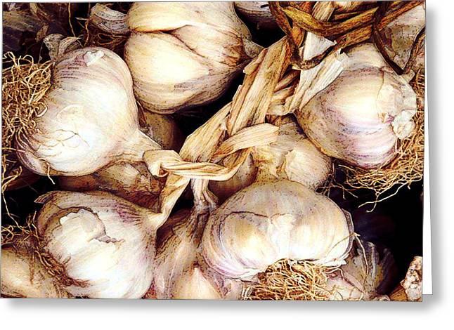 Gobs Og Garlic Greeting Card by Elaine Plesser