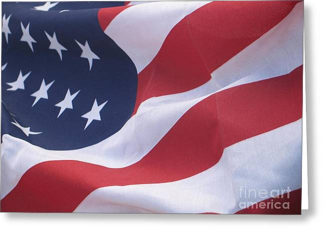 Greeting Card featuring the photograph God Bless America by Chrisann Ellis