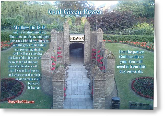 God Given Power Greeting Card
