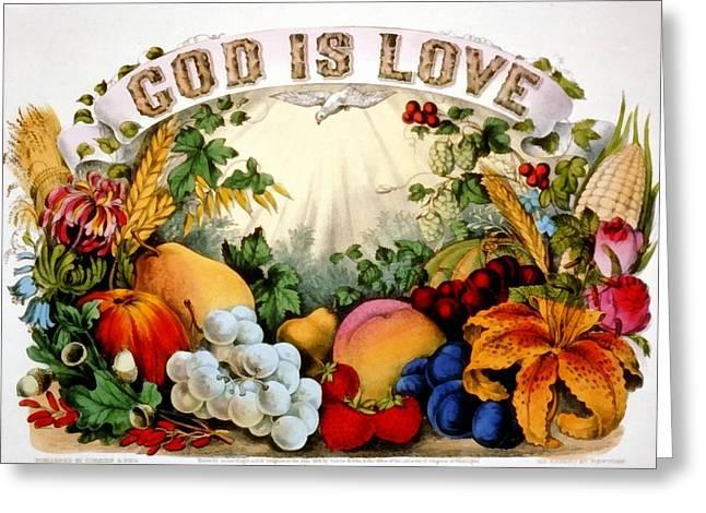 God I Love Greeting Card