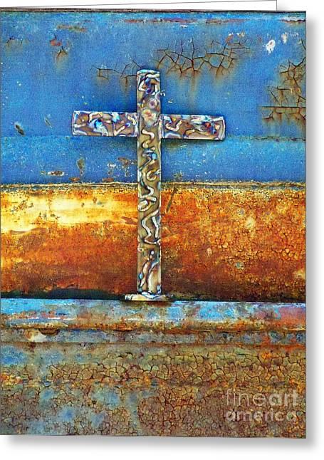 God Through Time Greeting Card