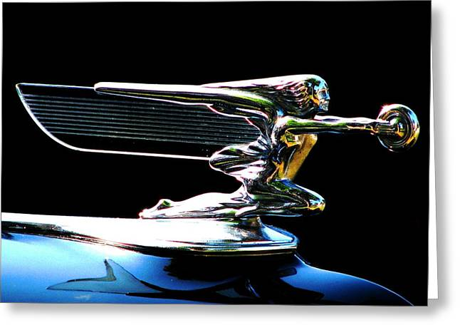 Goddess Of Speed Greeting Card