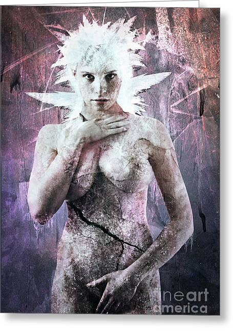Goddess Of The Water Oh My Goddess Edition Greeting Card