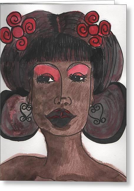 Goddess One Greeting Card