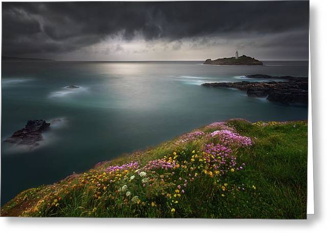 Godrevy Point... Greeting Card
