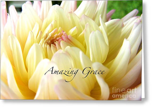 Greeting Card featuring the photograph God's Amazing Garden by Margie Amberge