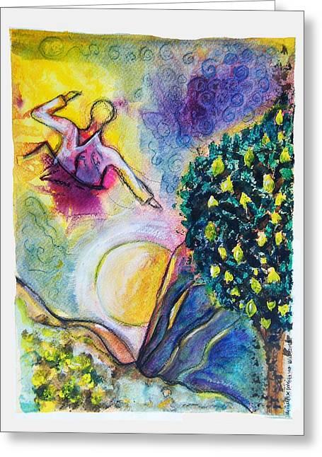 God's Lemon Tree Greeting Card