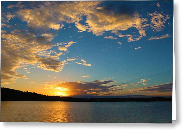 God's Paint Brush Greeting Card by Lorna Rogers Photography