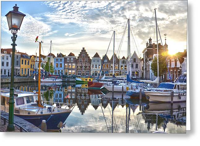 Goes Harbour Greeting Card