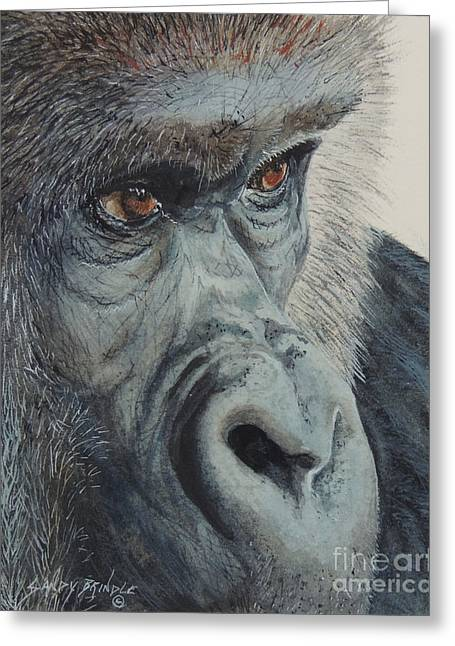 Going Ape...sold  Greeting Card