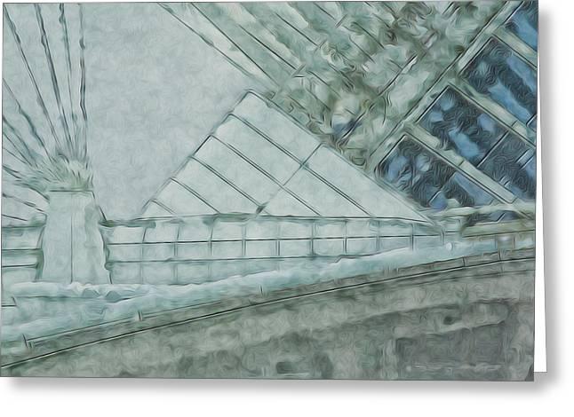 Going Calatrava Greeting Card