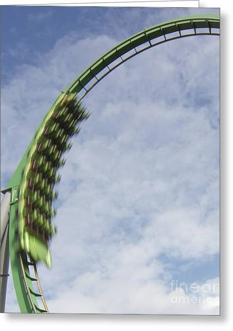 Going Green Greeting Card by James Knights