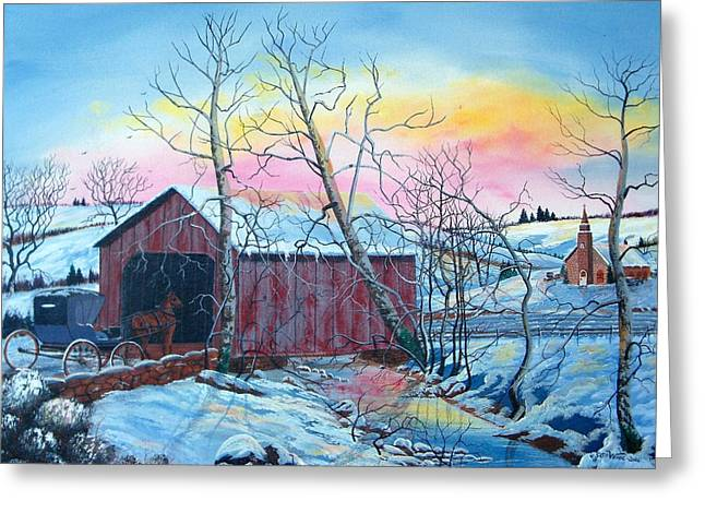 Going Home Greeting Card by Seth Wade