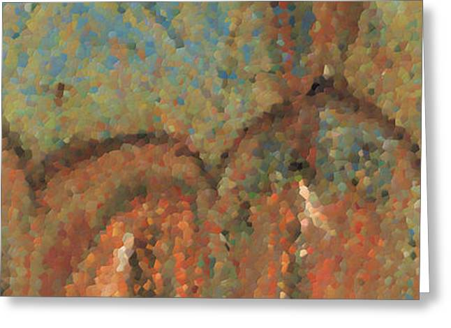 Going Through Spiritual Confusion. Giant Canvas Art Greeting Card by Great Big Art