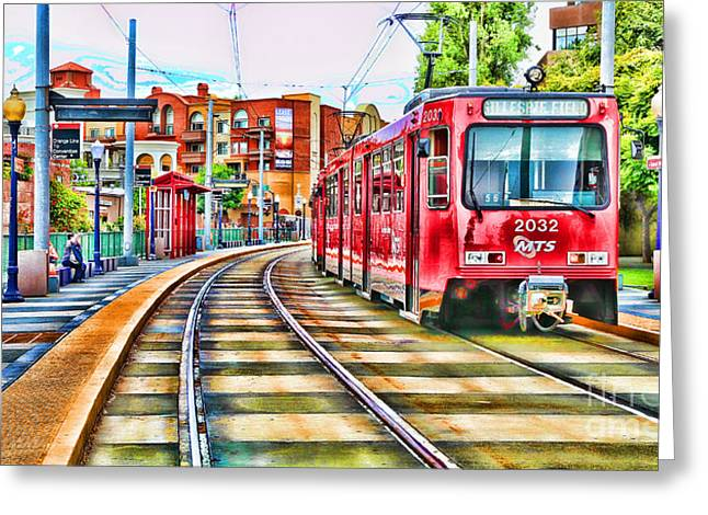 Going To Gillespie Field By Diana Sainz Greeting Card