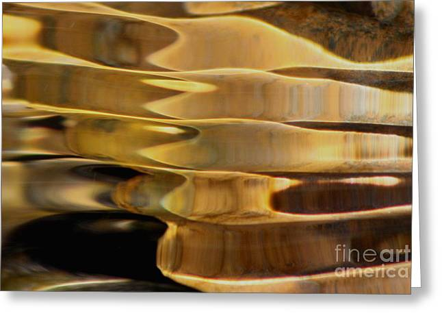 Golden Dance Greeting Card by Fred  Sheridan