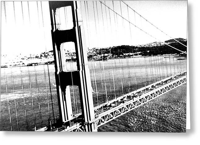 Golden Gate Greeting Card by Amy Giacomelli
