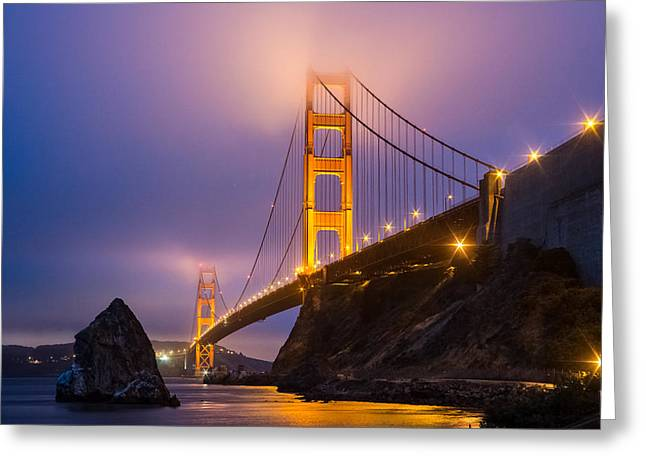 Golden Gate Beauty Greeting Card