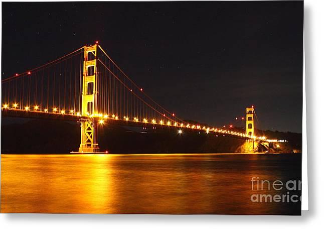 Golden Gate Bridge 2 Greeting Card by Theresa Ramos-DuVon