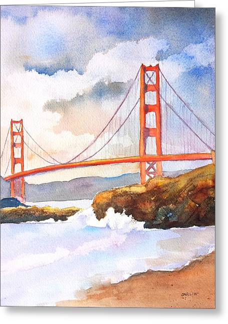 Golden Gate Bridge 4 Greeting Card