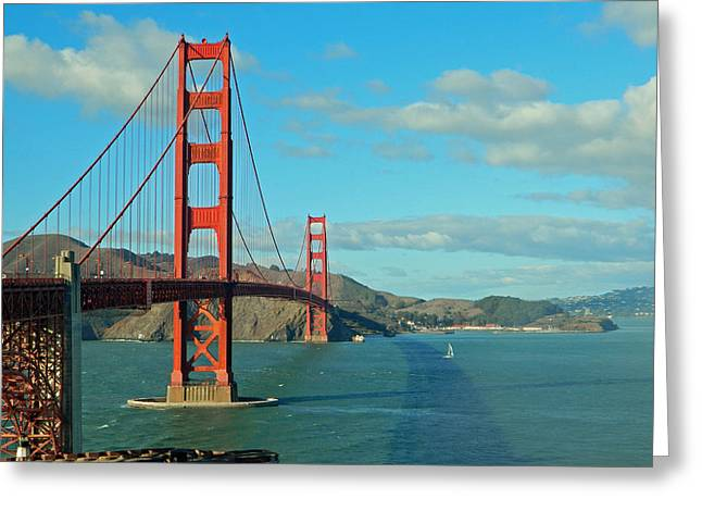 Golden Gate Bridge Greeting Card by Emmy Marie Vickers
