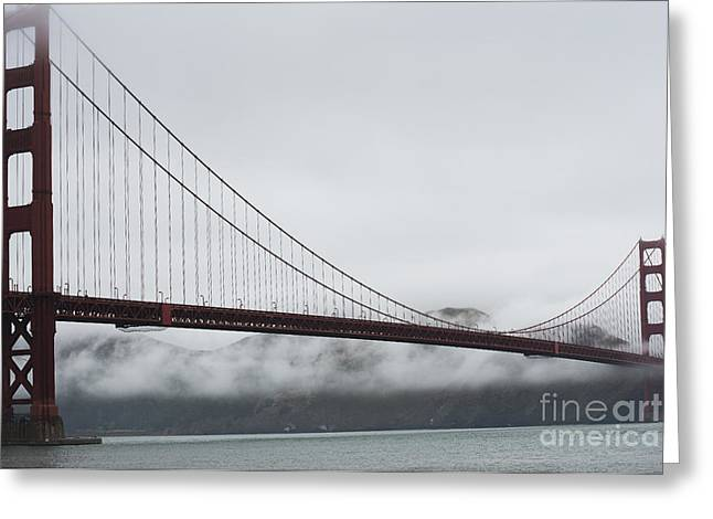 Golden Gate By The Bay Greeting Card