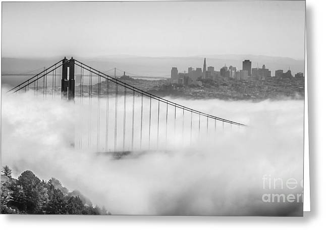 Greeting Card featuring the photograph Golden Gate by Charles Garcia