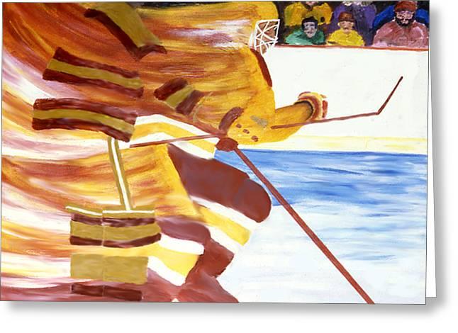 Golden Gophers Greeting Card by Ken Yackel