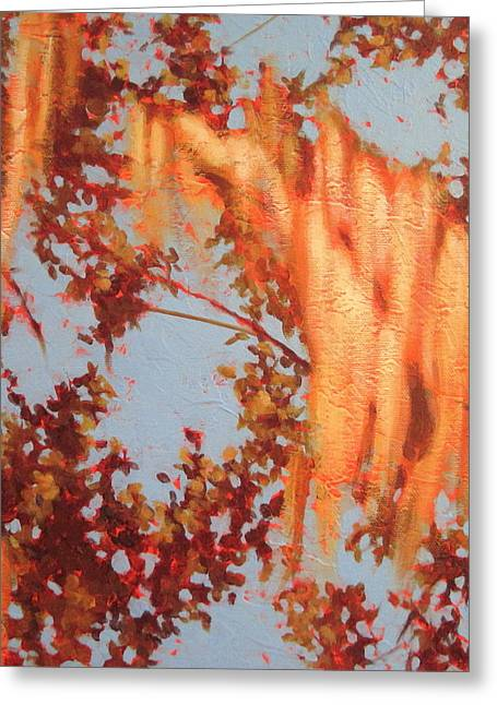 Golden Hour 3 Greeting Card by Carlynne Hershberger