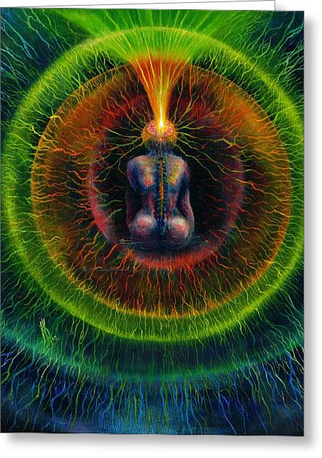 Golden Lead Greeting Card by Kd Neeley