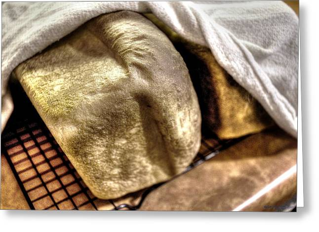 Golden Loaves Greeting Card