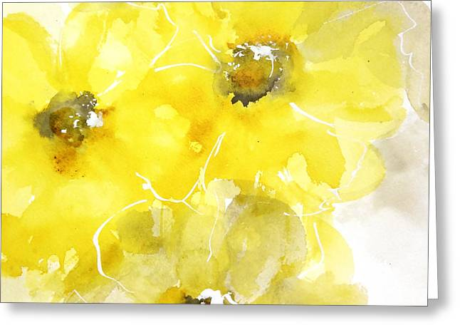 Golden Poppies 2 Greeting Card