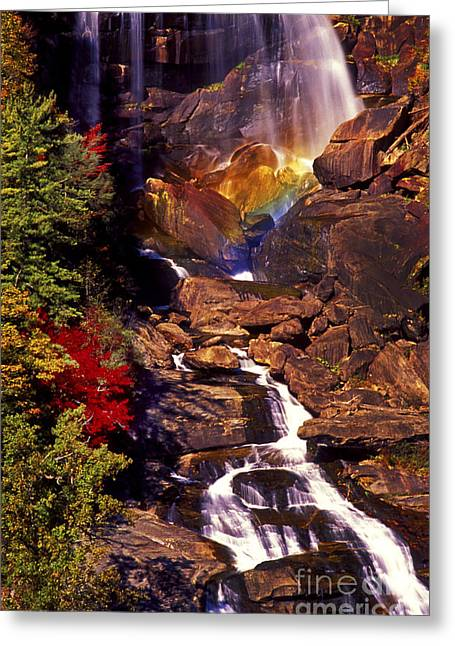 Golden Rainbow Greeting Card by Paul W Faust -  Impressions of Light