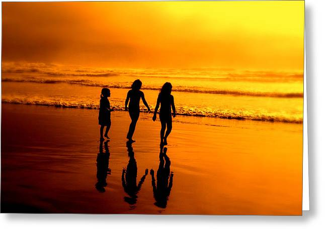 Golden Sands  Greeting Card by Micki Findlay
