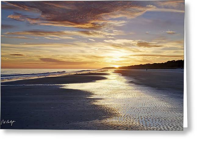 Golden Sands Greeting Card by Phill Doherty