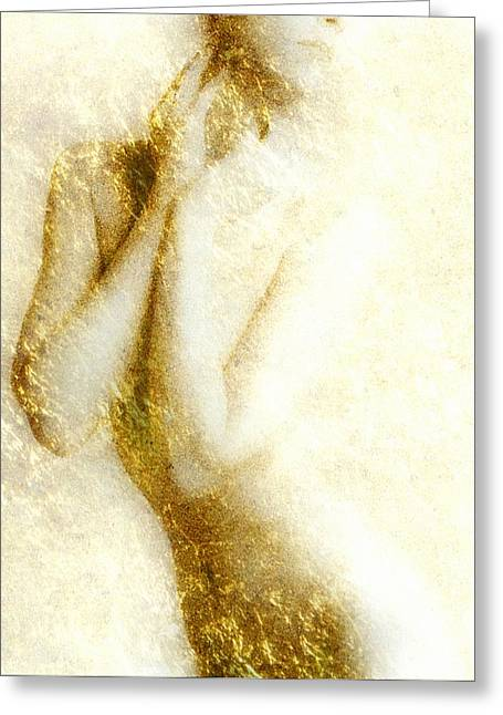 Golden Shower Greeting Card by Gun Legler