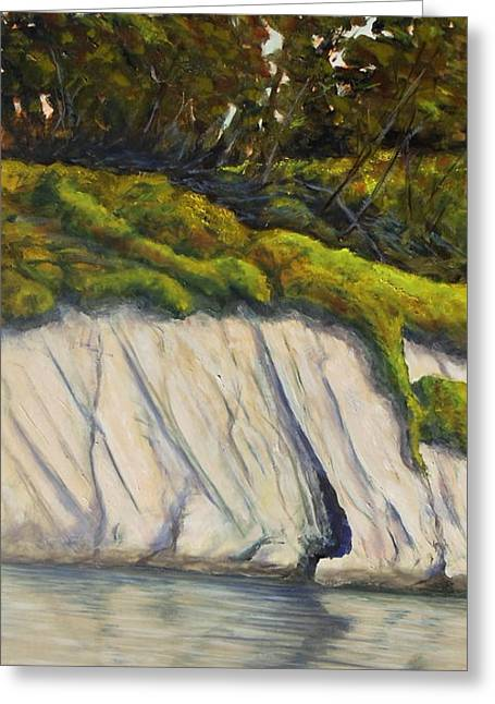 Goleta Slough The Cave Greeting Card by Jeffrey Campbell