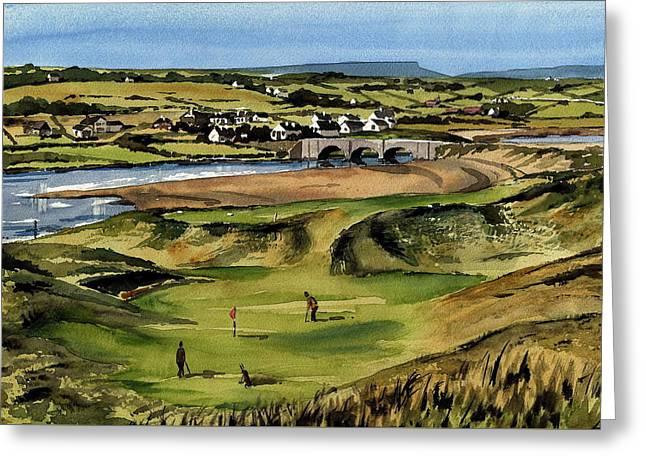 Clare  Golf At Lahinch Gc Greeting Card