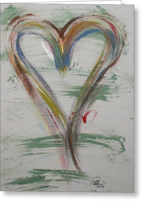 Golf Heart Greeting Card