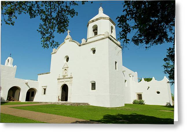 Goliad, Texas, Usa, Mission Nuestra Greeting Card by Larry Ditto