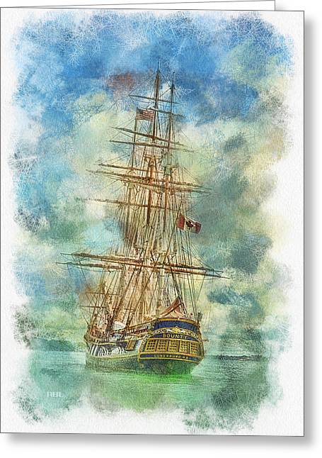 Gone But Not Forgotten Greeting Card by Rick Lloyd