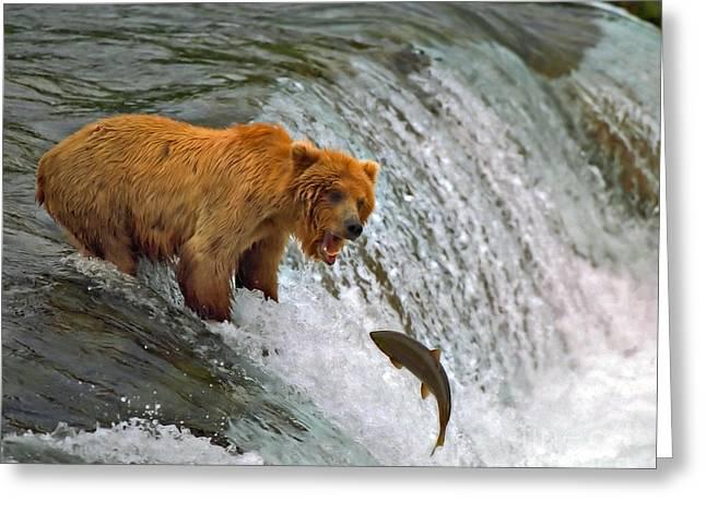 Gone Fishin Greeting Card
