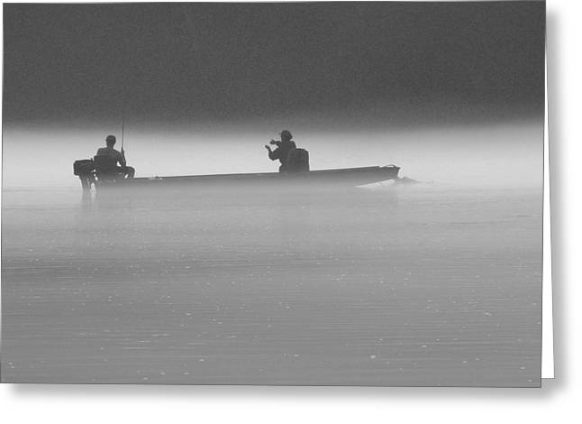 Gone Fishing Greeting Card by Mike McGlothlen