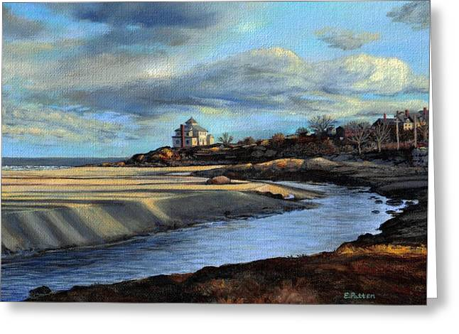 Good Harbor Beach Gloucester Greeting Card