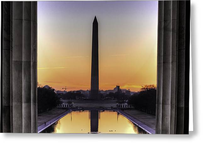 Good Morning America Greeting Card
