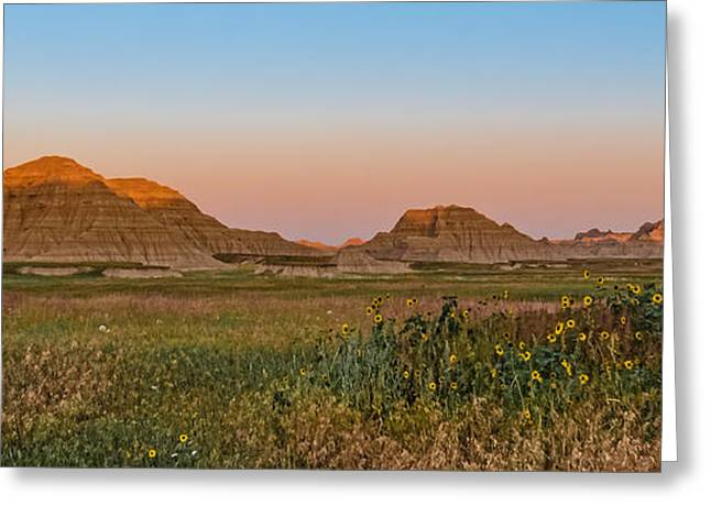 Greeting Card featuring the photograph Good Morning Badlands II by Patti Deters