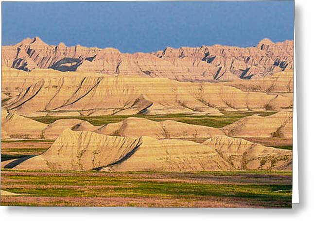 Greeting Card featuring the photograph Good Morning Badlands I by Patti Deters