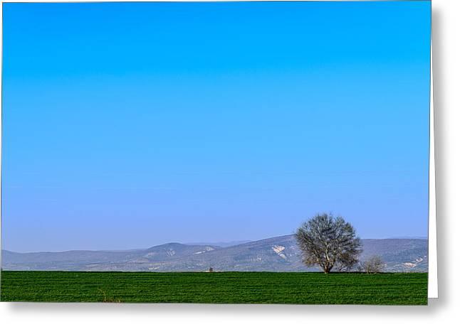 Good Morning  Beautiful World  Greeting Card by Sotiris Filippou