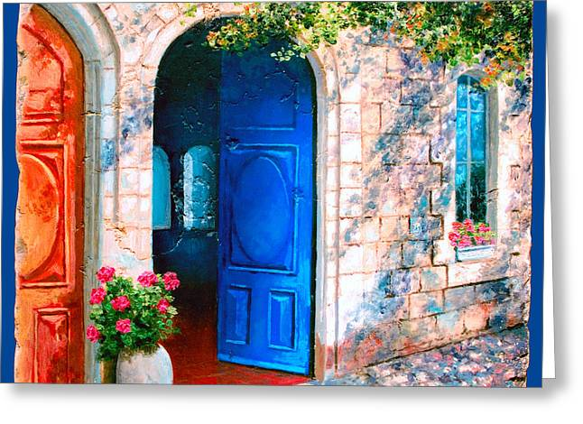 Good Morning Jerusalem Greeting Card
